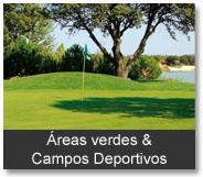 Categoría Areas verdes y campos deportivos